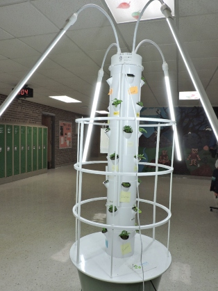 Bardeen/Curiosity Grant for a Tower Garden at Tobey Elementary