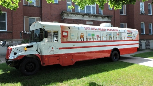 The Big Read Machine Bookmobile