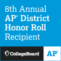 8th Annual AP District Honor Roll Recipient