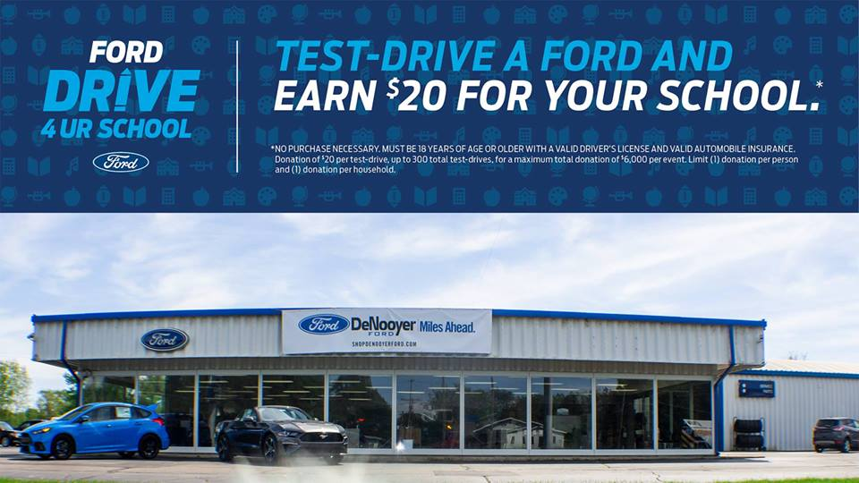Test Drive a Ford